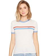 RVCA - Stripe Chest Ringer T-Shirt