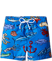 Dolce & Gabbana Kids - Mare Fish Swim Trunk (Infant)