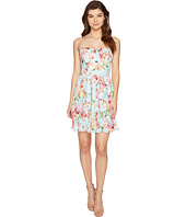 Adelyn Rae - Valerie Woven Printed Strapless Dress