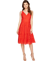 Adelyn Rae - Laureen Woven Lace Midi Fit and Flare
