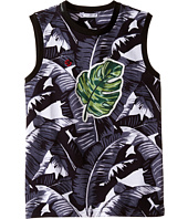 Dolce & Gabbana Kids - Banana Leaf Sleeveless T-Shirt (Big Kids)