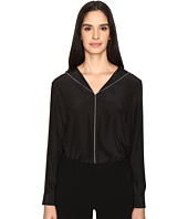 ATM Anthony Thomas Melillo - Collarless Shirt with Piping
