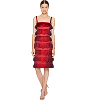 Alberta Ferretti - Sleeveless Tiered Fringe Dress