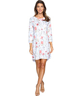Nally & Millie - Sky Blue Floral Dress