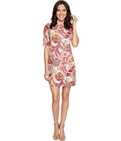 Nally & Millie - Paisley Printed Elbow Sleeve Dress