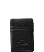 Herschel Supply Co. - Raven Leather RFID