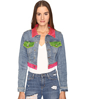 Jeremy Scott - Multi Clear Denim Jacket