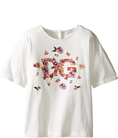 Dolce & Gabbana Kids - Mambo Logo T-Shirt (Toddler/Little Kids)