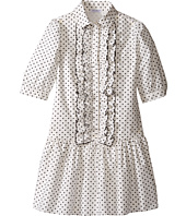 Dolce & Gabbana Kids - Tropical City Long Sleeve Dress (Big Kids)