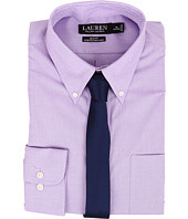 LAUREN Ralph Lauren - Slim Fit Stretch Non Iron Pinpoint Button Down Dress Shirt