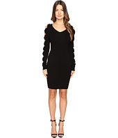 Boutique Moschino - Knit Sweater Dress with Bow Sleeves