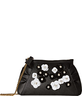 Boutique Moschino - Embellished Floral Clutch with Chain