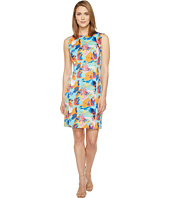 Tahari by ASL - Floral Scuba Sheath Dress