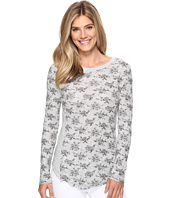 Dylan by True Grit - Vintage Heather Print Baby Thermal Long Sleeve Crew