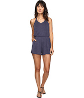 Lucky Brand - Festival Solid Romper Cover-Up