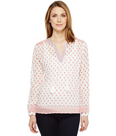 Dylan by True Grit - Gauzy Parker Peasant Long Sleeve Blouse
