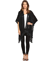Vince Camuto - Cotton Slub Tiered Fringe Topper