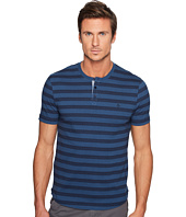 Original Penguin - Short Sleeve Zebra Printed Henley