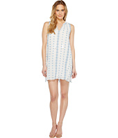 Dylan by True Grit - Prarie Embroidered Trapeze Dress w/ Lining