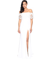 Faviana - Jersey Off Shoulder w/ Lace Band S7937