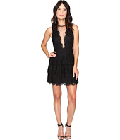 Nicole Miller - Lizette Tiered Lace Party Dress