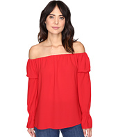 Nicole Miller - Off the Shoulder Poly Top