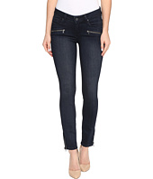 Paige - Jane Zip Ultra Skinny in Deacon No Whiskers