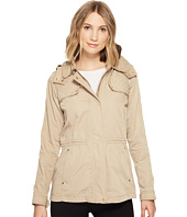 Vince Camuto - Hooded Lightweight Parka with Drawstring Waist