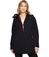 Vince Camuto - Nautical Inspired Trench with Contrast Piping