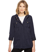 Vince Camuto - Four Pocket Parka with Drawstring Waist and Hem