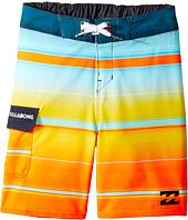 Billabong Kids - All Day X Stripe Boardshorts (Toddler/Little Kids)