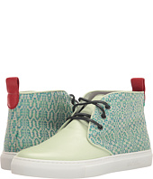 Del Toro - High Top Textile/Leather Chukka Sneaker