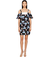 Sportmax - Marocco Strapless Floral Ruffle Dress