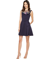 Ted Baker - Lavensa Folk Foliage Neoprene Skater Dress