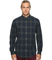 Original Penguin - Long Sleeve P55 Blackwatch Plaid Woven Shirt