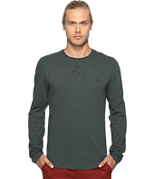 Original Penguin - Long Sleeve Sueded Slub Henley
