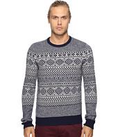 Original Penguin - Long Sleeve Lambswool Sweater