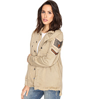 Free People - Embellished Military Shirt Jacket