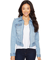 Liverpool - Denim Zip Jacket in Vintage Super Comfort Stretch Denim