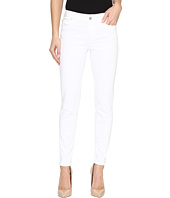 Liverpool - Penny Ankle Skinny Vintage Slub Stretch Twill in Bright White