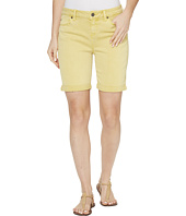 Liverpool - Corine Rolled-Cuff Walking Shorts in Pigment Dyed Stretch Slub Twill in Butterscotch