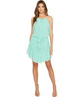 Laundry by Shelli Segal - Boho Chic Ruffle Dress w/ Tie Details