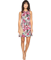 kensie - Wild Garden Dress with Cut Out Side KS3K7740