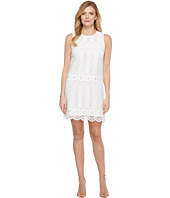 Laundry by Shelli Segal - Venise Dress w/ Metal Eyelet Details