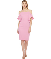 Laundry by Shelli Segal - Off the Shoulder w/ Flutter Sleeve Cocktail Dress