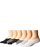 New Balance - N200 Ultra Low No Show Socks 6-Pair Pack