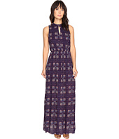 Brigitte Bailey - Kaitlin Sleeveless Maxi Dress with Front Keyhole
