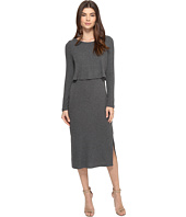 Brigitte Bailey - Gennifer Long Sleeve Knit Midi Dress
