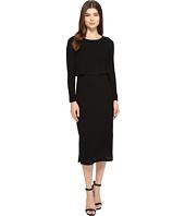 Brigitte Bailey - Gennifer Long Sleeve Knit Midi Dress