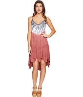 Culture Phit - Kelsee Spaghetti Strap Tie-Dye Dress